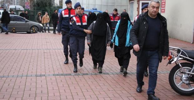 DEAŞ operasyonunda 4 kadın şüpheli gözaltında