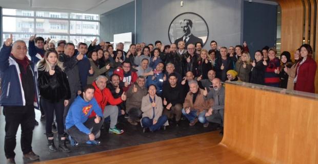 DTO Kocaeli Şubesi'nde Hakem Adayları Yarıştı: ÖNCE SEMİNER SONRA SINAV