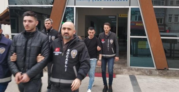 5'er yıl hapis cezası ile aranan 3 kişi yakalandı