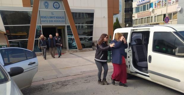 İzmit'te fuhuş operasyonu: 2 gözaltı