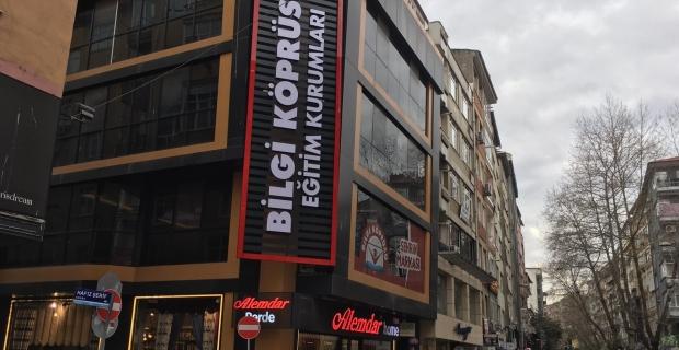 Şehrin markası artık şehrin göbeğinde: Bilgi Köprüsü yeni şubesini kontenjan sınavıyla açıyor