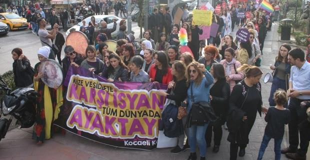 8 Mart'ta Kadın Dayanışması