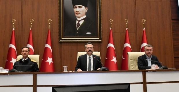 İl Pandemi Kurulu, Vali Aksoy başkanlığında toplandı