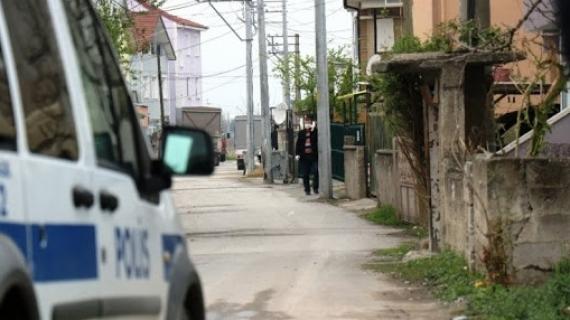 Paşa'da bir sokak karantinada