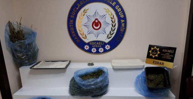 Darıca'da uyuşturucu operasyonu