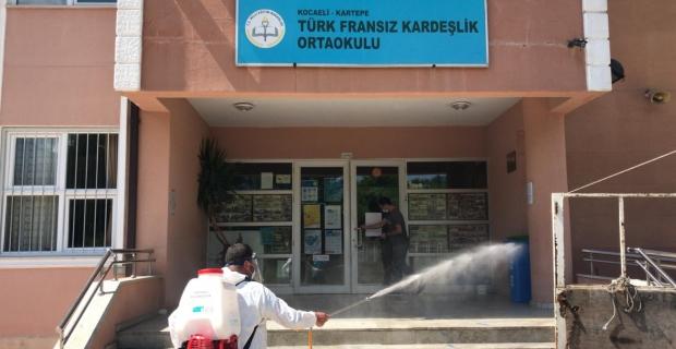 Kartepe'de Okullar Sınava Hazırlandı