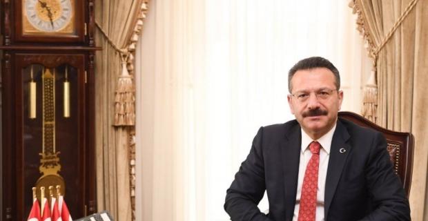 Vali Hüseyin Aksoy'un Kocaeli'ne veda mesajı