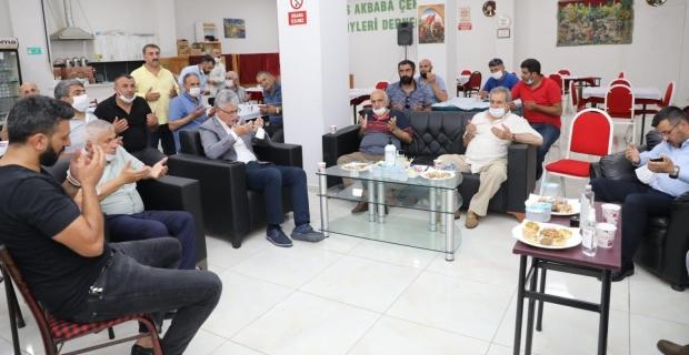 Başkan Ellibeş'ten Barhan ve Kılıç ailelerine taziye ziyareti