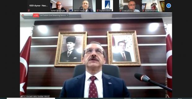 KSO Meclis Toplantısına, Vali Yavuz konuk oldu