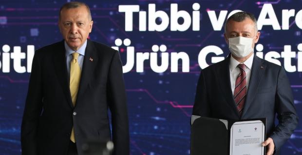 Cumhurbaşkanı Erdoğan'ın katılımıyla imzalar atıldı.. Şifa bitkileri için start verildi