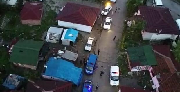 Hırsızlık yapan 4 kişi operasyonla yakalandı