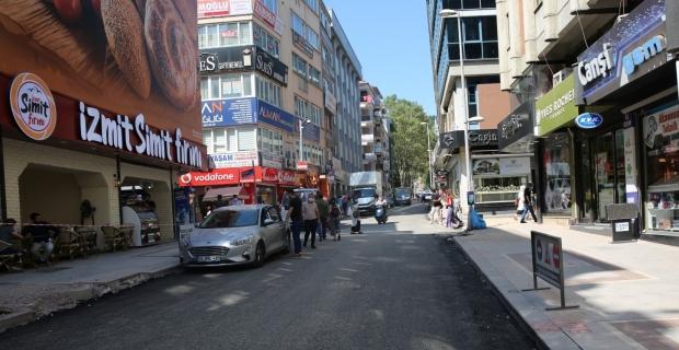 İzmit Alemdar Caddesi trafiğe açıldı