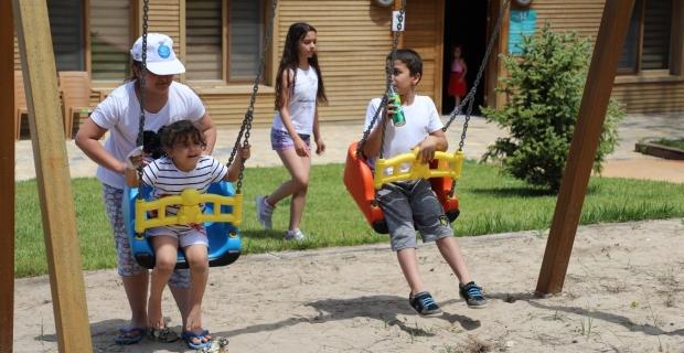 Büyükşehir kamplarında 5 bin sağlıkçı aileleriyle ağırlandı