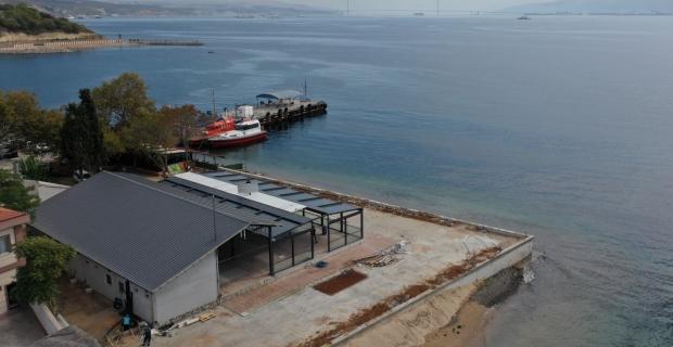 Darıca Sahil Parkı zenginleşiyor