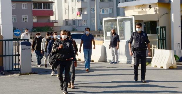Göçmen kaçakçılığı operasyonu: 9 gözaltı