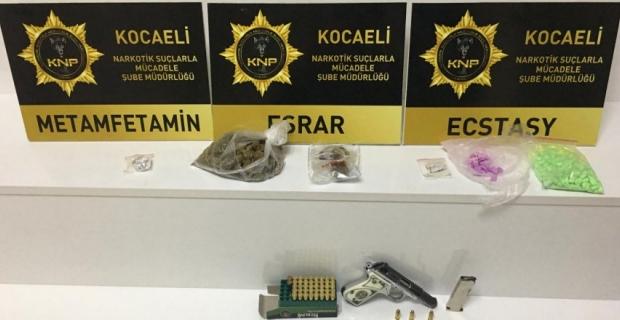 Haftalık uyuşturucu raporu: 59 operasyonda 20 kişi tutuklandı