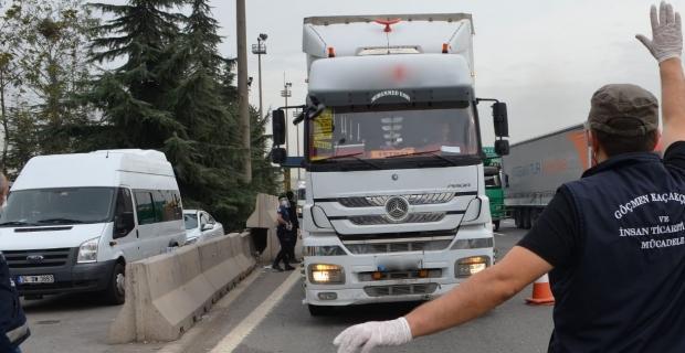 Kaçak göçmen operasyonu: 5 gözaltı