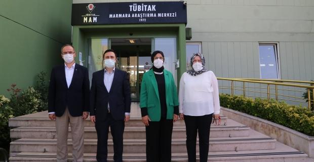"""Katırcıoğlu; """"AŞI'da müjdeli haberi Kocaeli'nden tüm Dünya'ya duyuracağız"""""""