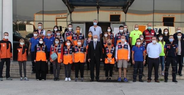 Kocaeli AFAD'dan, gönüllülere yüz yüze eğitim