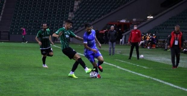 Kocaelispor zorlu karşılaşmayı 2-1 kazandı