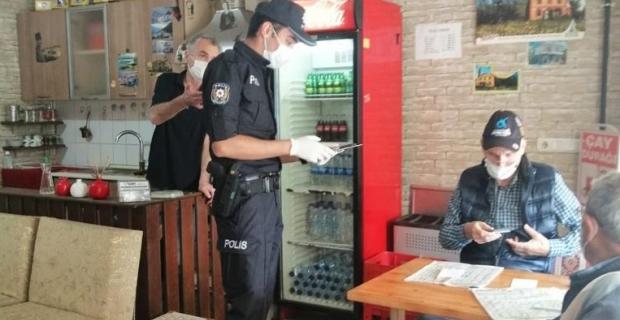 Kural ihlali yapan 157 kişiye para cezası