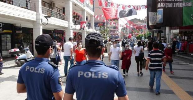 Kural ihlali yapan 164 kişiye para cezası