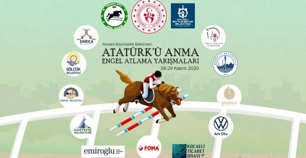 Atatürk'ü Anma Engel Atlama Yarışması Kocaeli'de gerçekleşecek