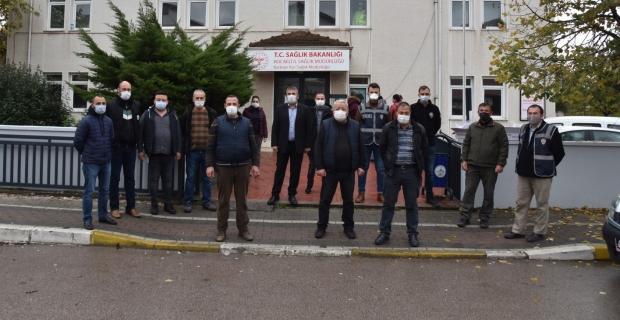 Kartepe'de Belediyesi'nden İlçe Sağlık Müdürlüğü'ne destek