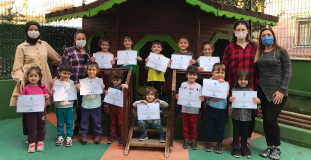 """Montessori Anaokulundan bir sosyal sorumluluk projesi daha;                                          """"ORMAN GELECEKTİR, SEN DE GELECEĞİNE BİR AĞAÇ DİK"""""""