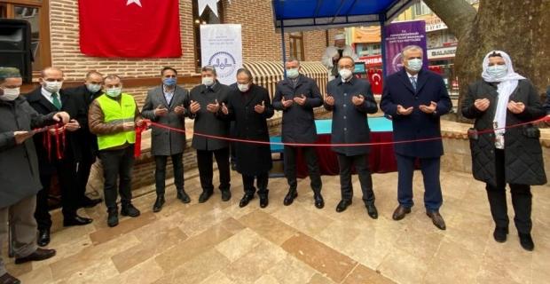 Baç Çınarlı Camii İbadete Açıldı
