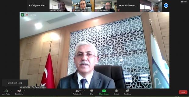 KSO Meclis Toplantısının konuğu, İSU Genel Müdürü Ali Sağlık oldu