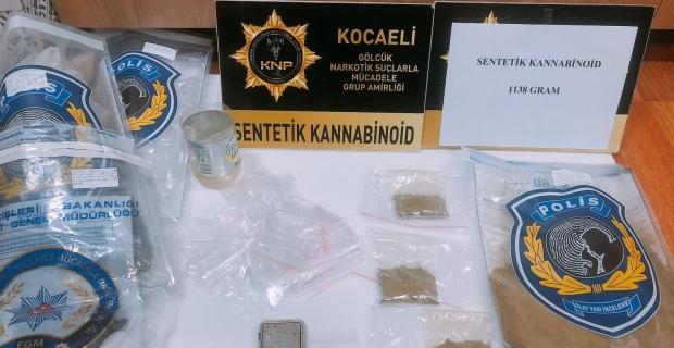 Uyuşturucu tacirini polis yakaladı