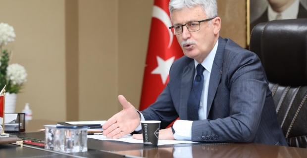 """Başkan Ellibeş'ten """"Provakasyona dur de"""" çağrısı"""