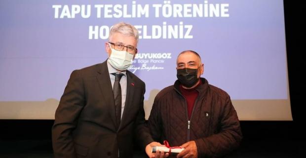 """Ellibeş, esnaf ve çiftçiden sonra çalışana """"%60"""" zammı övdü:  """"Tahir Büyükakın'ı kutluyorum"""""""