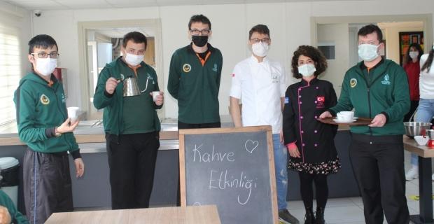 Özel öğrencilere barista eğitimi