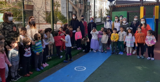 Bilgi Köprüsü Montessori'de Deprem ve Yeşilay Haftası