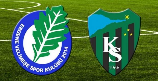 Deplasmandan 3 puanla döndük:  Ergene Velimeşe 0- Kocaelispor 3