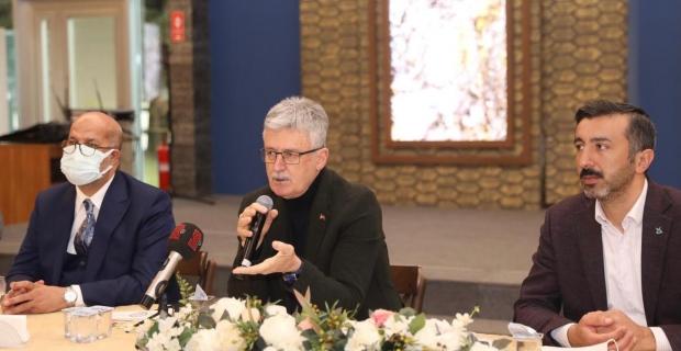 Ellibeş, GTK ile buluştu; İnsan Hakları Eylem Planını anlattı
