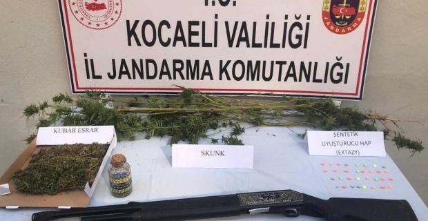 Haftalık uyuşturucu raporu: 62 operasyonda 15 kişi tutuklandı