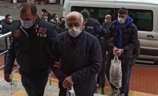 Terör şüphelisi 3 kişi tutuklandı