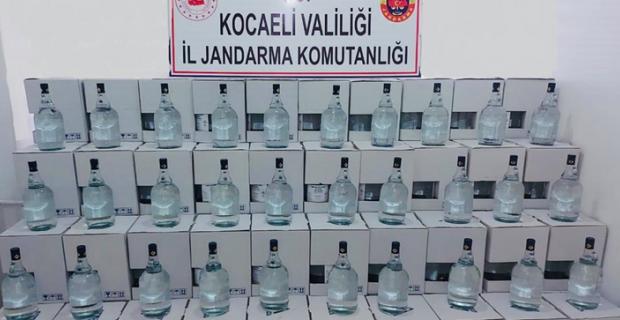 2 bin 500 litre etil alkol ele geçirildi: 2 gözaltı