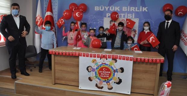 BBP'den çocuklara 23 Nisan sürprizi