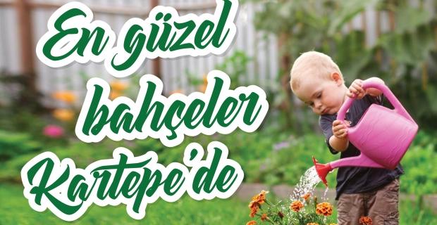 Kartepe'de Bahçeler Çiçek Açacak