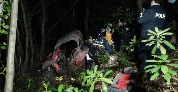 UTV 30 metreden uçuruma yuvarlandı: 1 ölü 1 yaralı