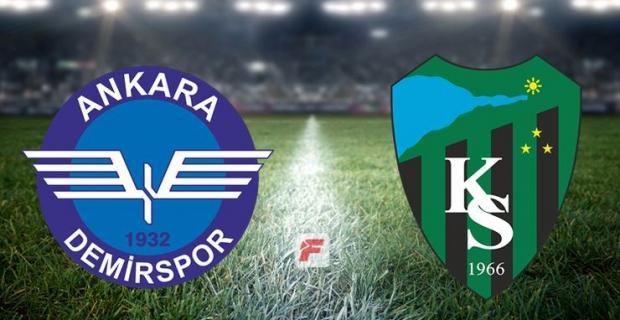 Kocaelispor, Başkent'ten avantajla döndü SKOR 1-1