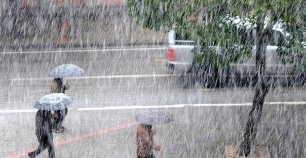 Bölgemizde kuvvetli yağış bekleniyor