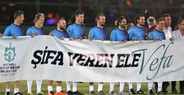 """Büyükşehir'den 2'nci  """"Şifa Veren Ele Vefa Futbol Şöleni"""""""