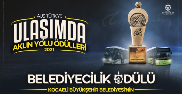 Büyükşehir'e 'Belediyecilik' ödülü