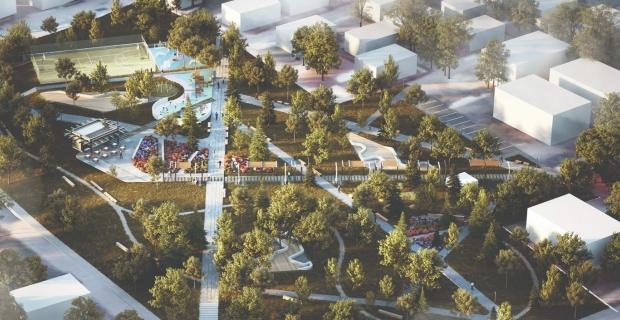 Cevher Dudayev Parkı'nda sona gelindi