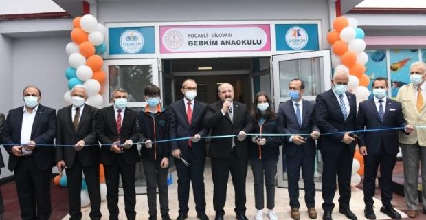 GEBKİM Anaokulu'nun açılışına Bakan Varank da katıldı